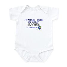Best Teachers In The World Infant Bodysuit