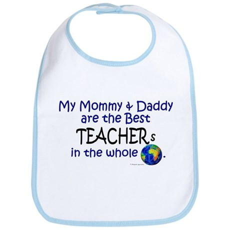 Best Teachers In The World Bib