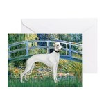 Bridge & Whippet Greeting Card