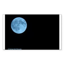 Once in a Blue Moon Rectangle Decal