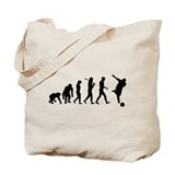 Evolution of Bowling Tote Bag