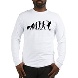 Evolution of Bowling Long Sleeve T-Shirt