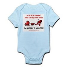 Shellfish Allergy Infant Bodysuit