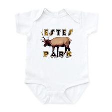 Estes Park , Colorado Elk  Infant Bodysuit