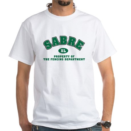 Sabre Dept: White T-Shirt