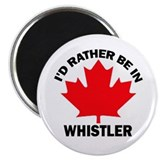 "I'd Rather Be in Whistler 2.25"" Magnet (10 pack)"