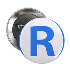 "Registered 2.25"" Button (10 pack)"