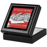 Deluxe Bookplate Storage Box Keepsake Box