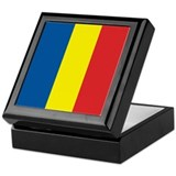 Romanian Flag Keepsake Box