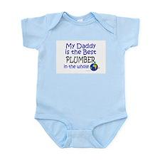 Best Plumber In The World (Daddy) Infant Bodysuit