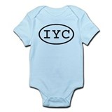 IYC Oval Infant Bodysuit