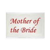 Mother of the Bride Rectangle Magnet (100 pack)