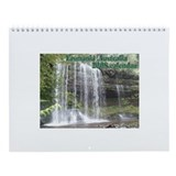 Elph Russell Falls, Tasmania Wall Calendar