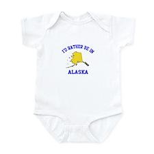 I'd Rather Be in Alaska Infant Bodysuit