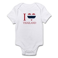 Funny Thailand flag Infant Bodysuit