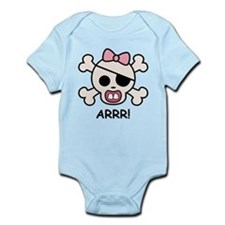 Baby Girl Pirate Infant Bodysuit