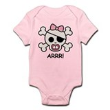 Baby Girl Pirate Onesie