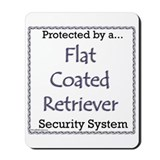 Flat-Coat Security Mousepad