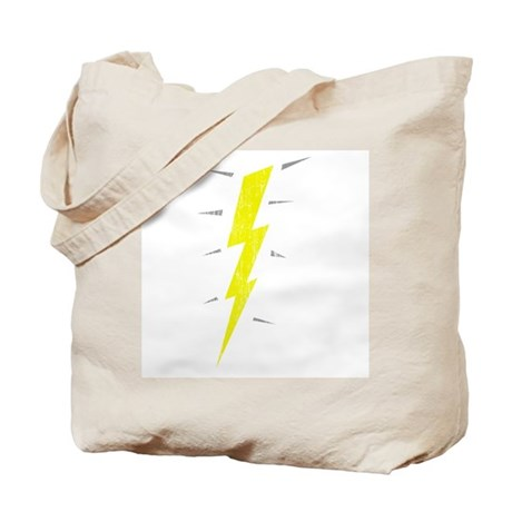 Lightning Bolt (Vintage) Tote Bag