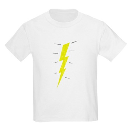 Lightning Bolt (Vintage) Kids Light T-Shirt