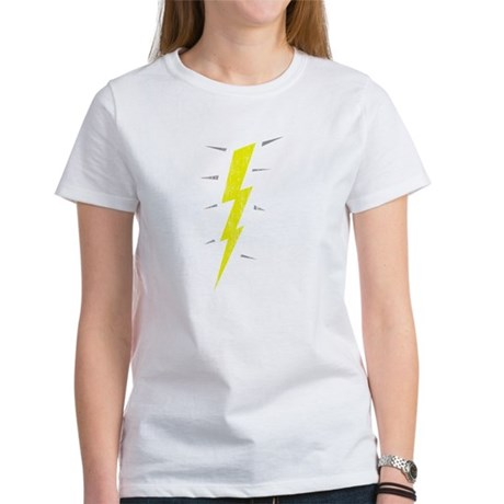 Lightning Bolt (Vintage) Womens T-Shirt