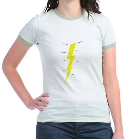 Lightning Bolt (Vintage) Jr Ringer T-Shirt