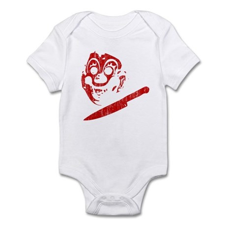 Michael Myers Clown Mask Infant Bodysuit
