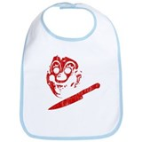Michael Myers Clown Mask Bib
