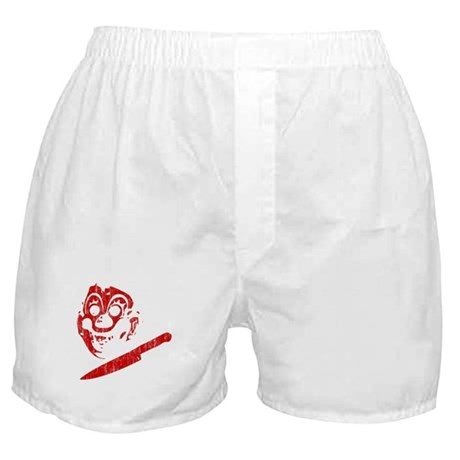 Michael Myers Clown Mask Boxer Shorts