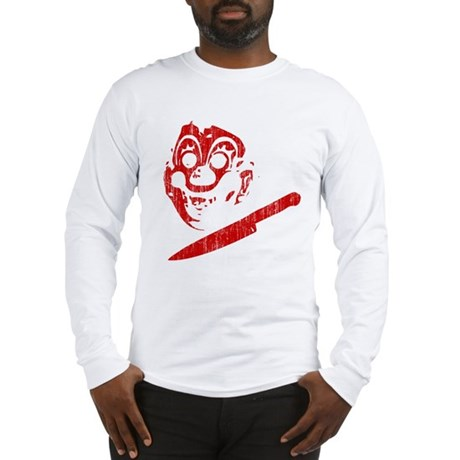 Michael Myers Clown Mask Long Sleeve T-Shirt