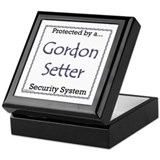 Gordon Security Keepsake Box