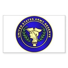 Army Reserve Rectangle Decal
