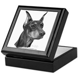 Doberman Pinscher Keepsake Box