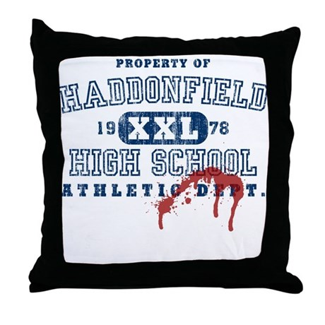 Property of Haddonfield High Throw Pillow