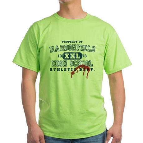 Property of Haddonfield High Green T-Shirt