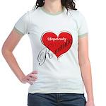 Romantic Jr. Ringer T-shirt