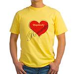 Romantic Yellow T-Shirt
