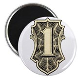 """THE ONE"" $1 dollar logo Magnet"