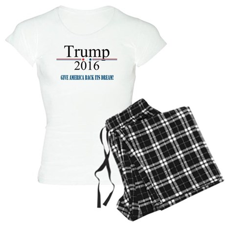 TRUMP Quote Give America Back It's Dream Pajamas