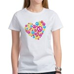 Love & Peace in Heart Women's T-Shirt
