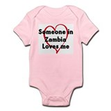 Loves me: Zambia Onesie