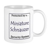 Mini Schnauzer Security Mug