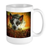 "AuCaDogs ""Pensive Cattle Dog"" - Mug"