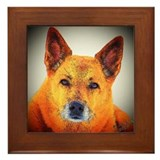 "AuCaDogs ""Gentle Wisdom"" - Framed Tile"