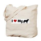 I love my Flat Coated Retriev Tote Bag