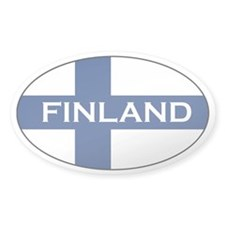 Finnish Decals Oval Decal