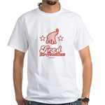 Fred for President White T-Shirt