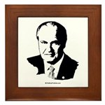 Fred Thompson Face Framed Tile