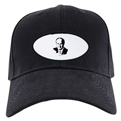 Fred Thompson Face Black Cap