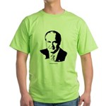 Fred Thompson Face Green T-Shirt